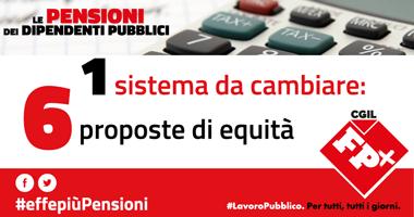 Pensioni: Fp Cgil lancia vertenza #effepiùPensioni, 6 richieste per equità