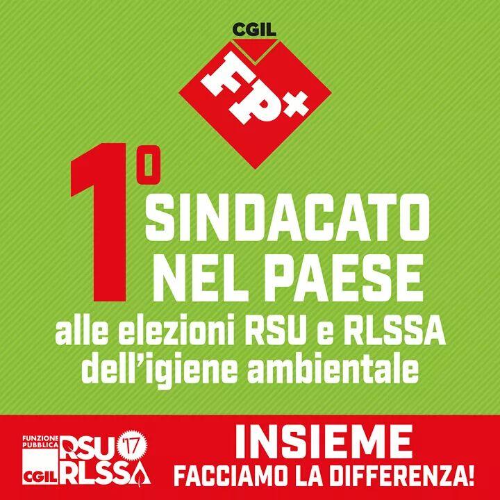 Lavoro: Fp Cgil, nettamente primo sindacato in elezioni Rsu e Rlssa