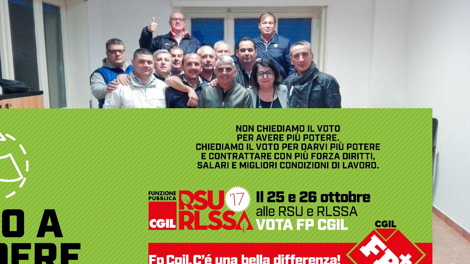 Messina- Elezioni Rsu e Rlssa igiene ambientale.  Vittoria della FPCGIL in tutto il territorio di Messina .