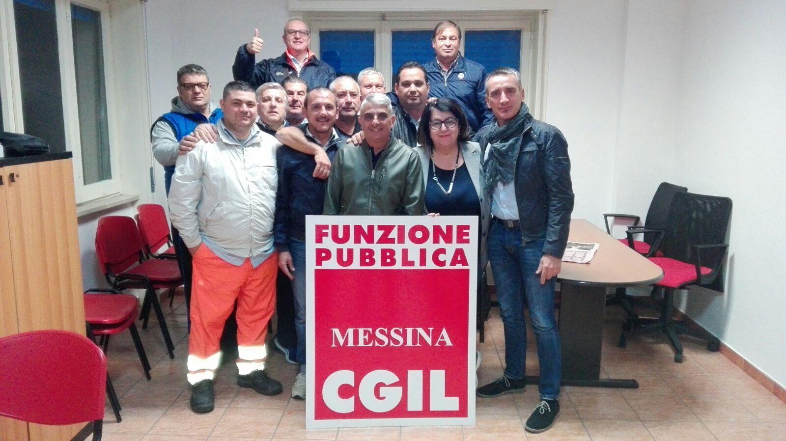 CGIL e FPCGIL ritengono non più procrastinabile la decisione sul passaggio dei lavoratori dalla Messinambiente alla Messina Servizi.
