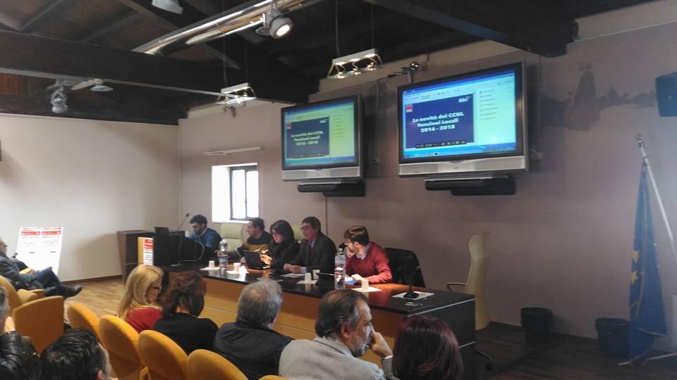 Agrigento –  Attivo delegati comparto Enti Locali