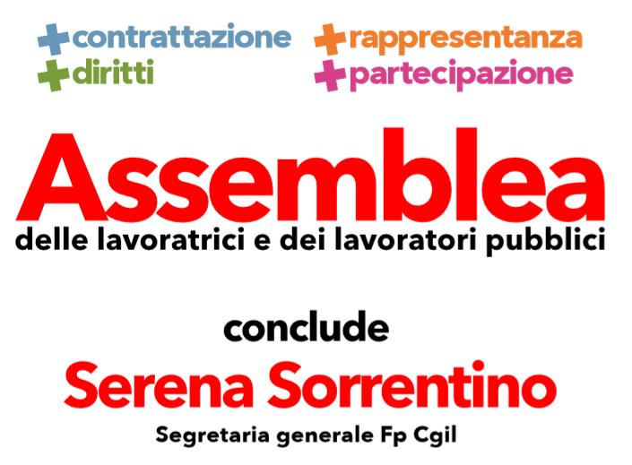 Palermo – Assemblea  con Serena Sorrentino