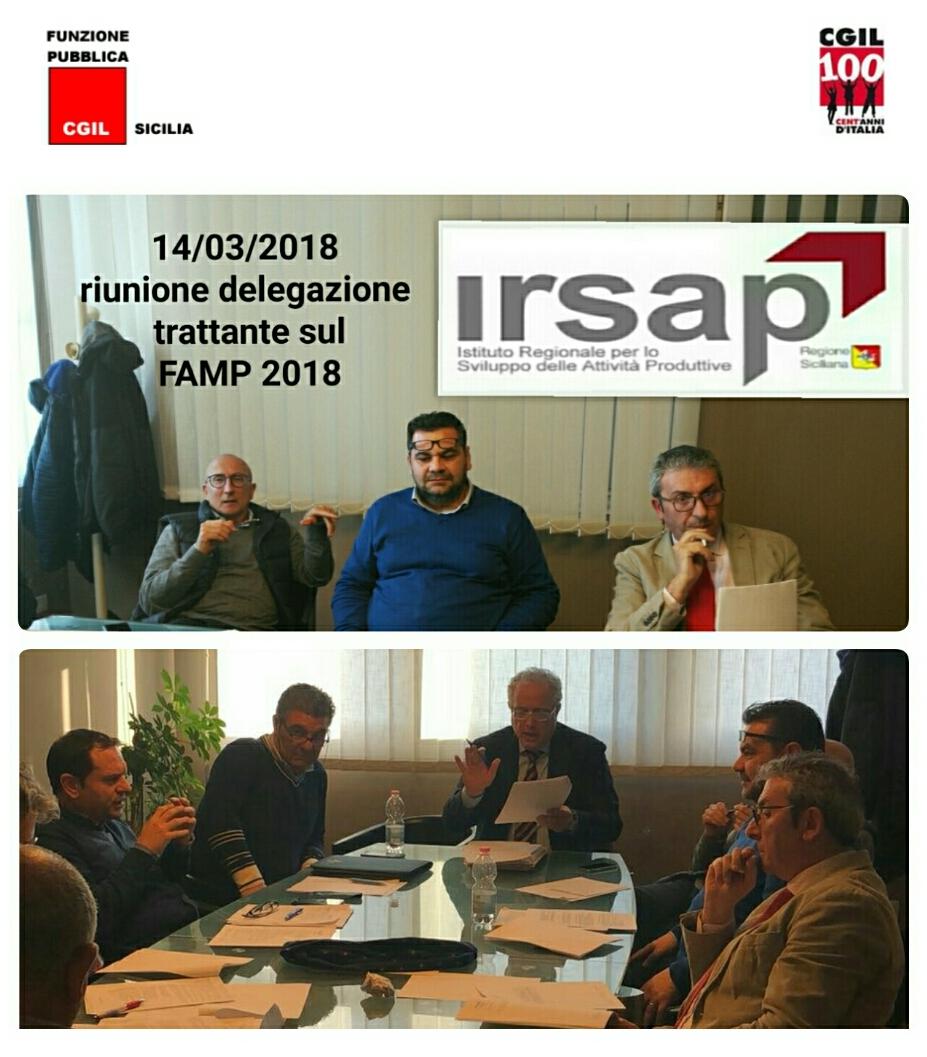 Irsap: Fp Cgil replica a Musumeci, l'Irsap per come è concepito è ingestibile. Smetterla di criminalizzare i lavoratori che vivono situazioni di grande disagio
