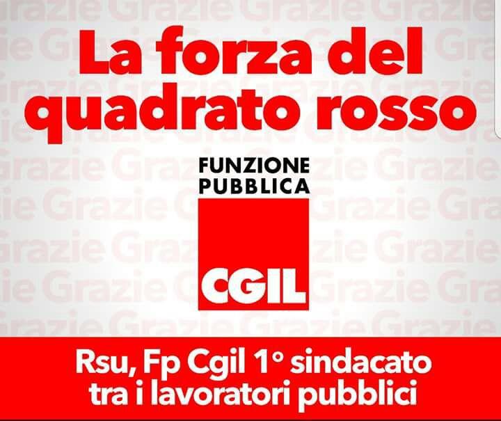 Pa: Fp Cgil  ,grande vittoria a Rsu, primo sindacato nel lavoro pubblico