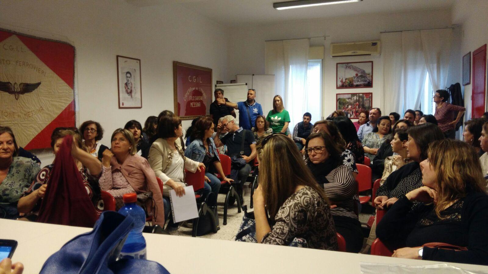 Servizi Sociali-Vertenza lavoratori impegnati nei servizi igienico personale agli alunni disabili .