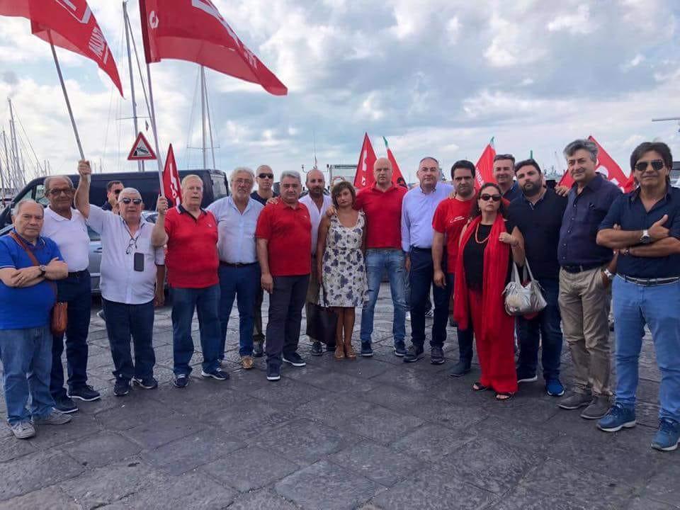 Nave Diciotti bloccata al porto di Catania con migranti a bordo: rischio sanitario, la FP Cgil Sicilia mette a disposizione i medici