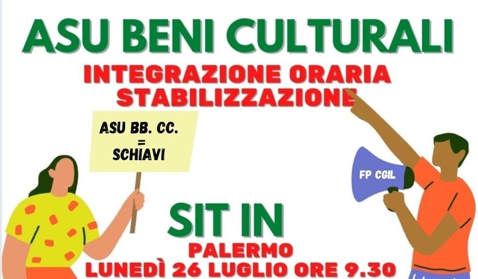 ASU BENI CULTURALI – FP CGIL SICILIA: L'ASSESSORE VENGA CON DELLE IDEE!