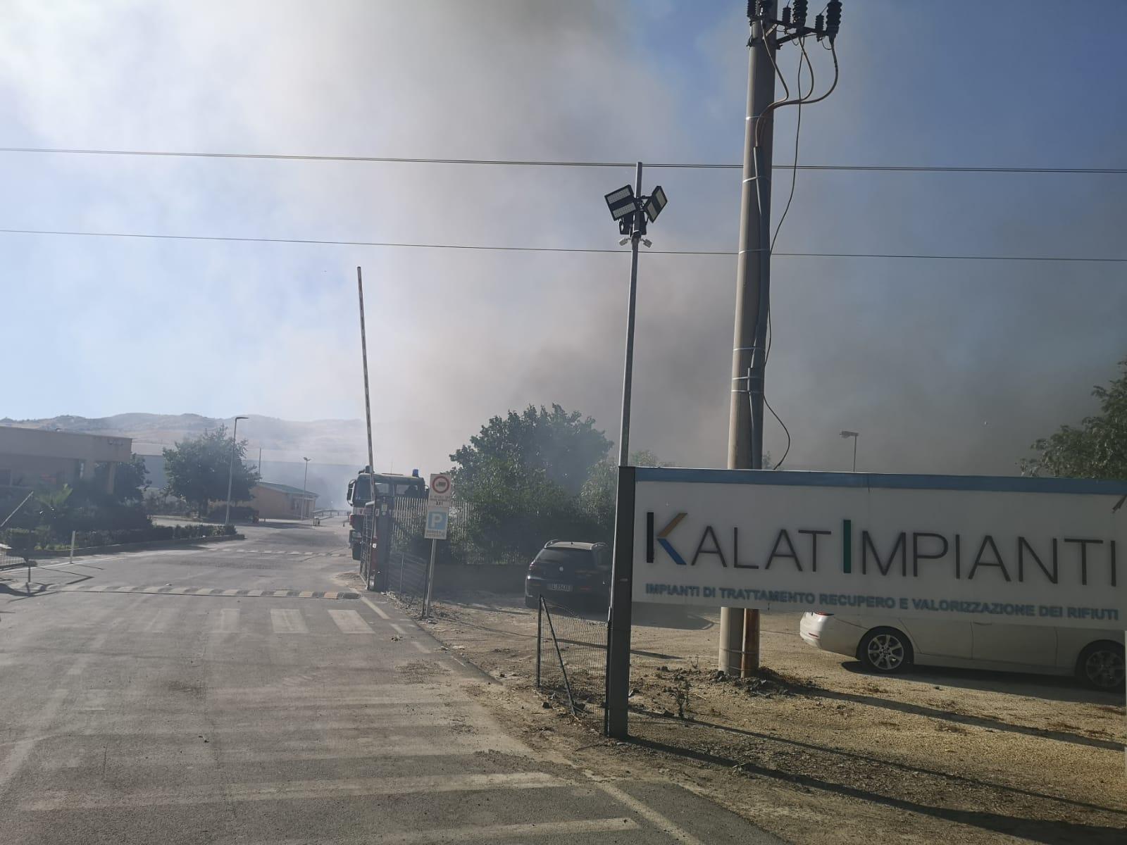 """Incendio """"Kalat Impianti"""", la preoccupazione della Cgil: La Regione intervenga per consentire subito la ripresa dell'attività e il sostegno al reddito ai lavoratori"""